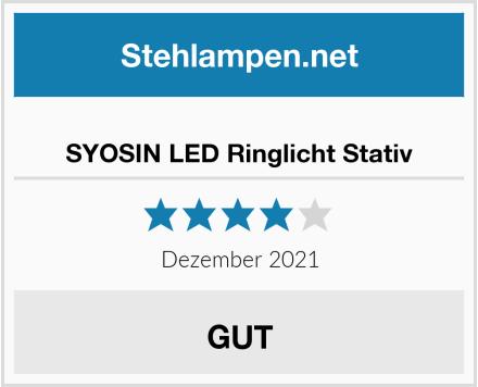 SYOSIN LED Ringlicht Stativ Test