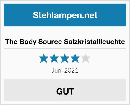 The Body Source Salzkristallleuchte Test
