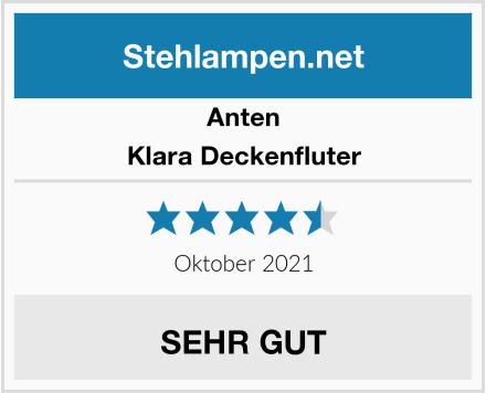 Anten Klara Deckenfluter Test