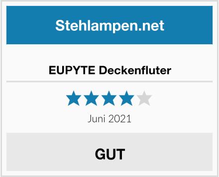 EUPYTE Deckenfluter Test