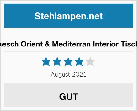Marrakesch Orient & Mediterran Interior Tischlampe Test