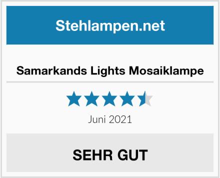 Samarkands Lights Mosaiklampe Test