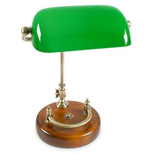 Relaxdays Bankerlampe 10016606