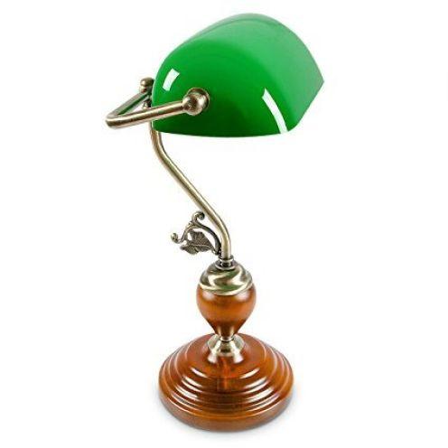 Relaxdays Bankerlampe 10016607