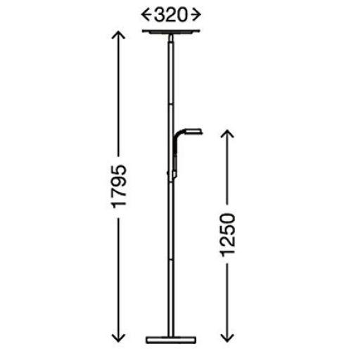 Briloner Leuchten 1292-022 A+