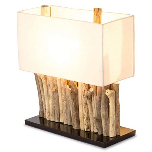 levandeo Lampe aus recyceltem Holz