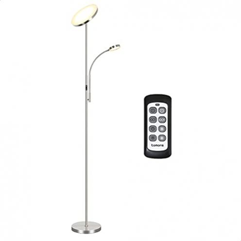 Tomons Stehlampe LED Dimmbar