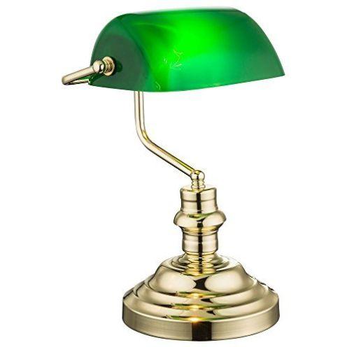 Globo Nostalgie Antik Retro Tisch Lampe